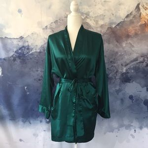Victoria's Secret emerald robe